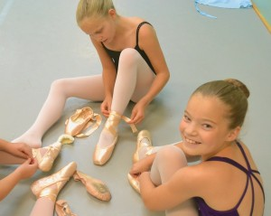 Charlotte School of Ballet Pointe