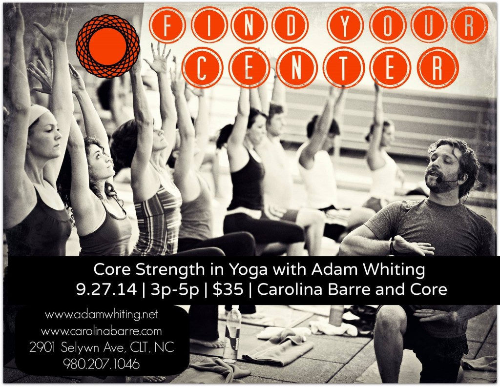 CBC Find Your Center Yoga Event