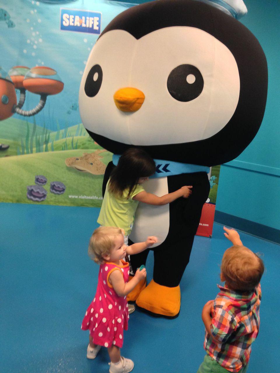 Check Out The Octonauts At Sea Life Aquarium Charlotte