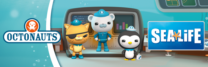 Octonauts Sea Life