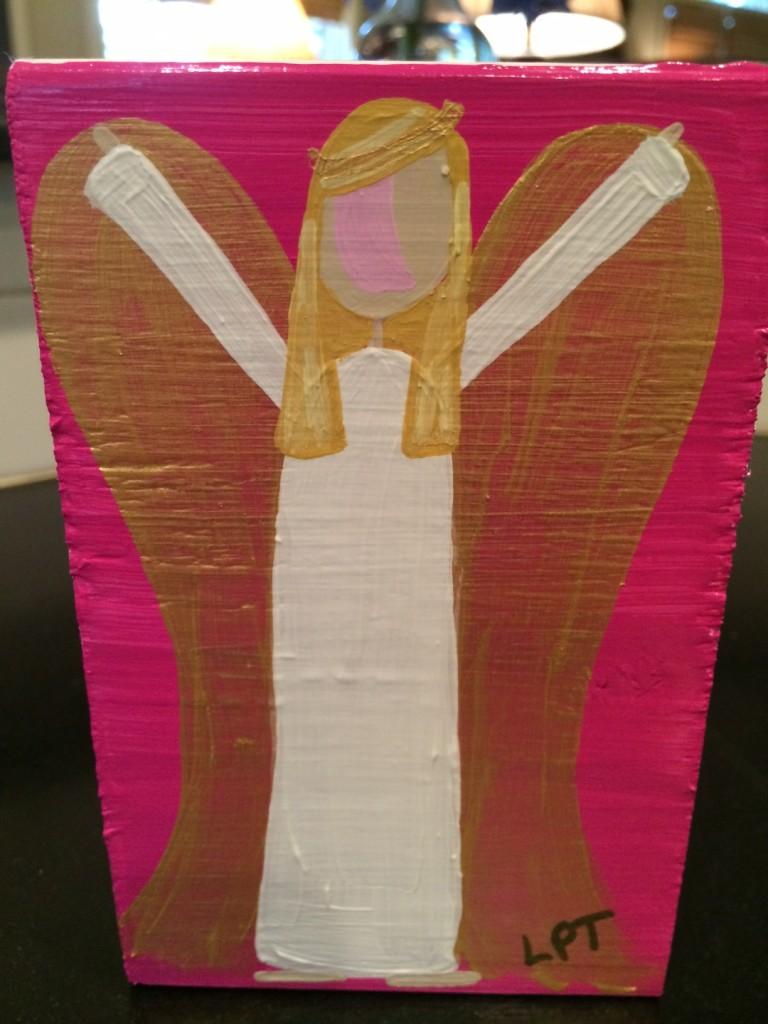 Lauren Thrift's Angel for me