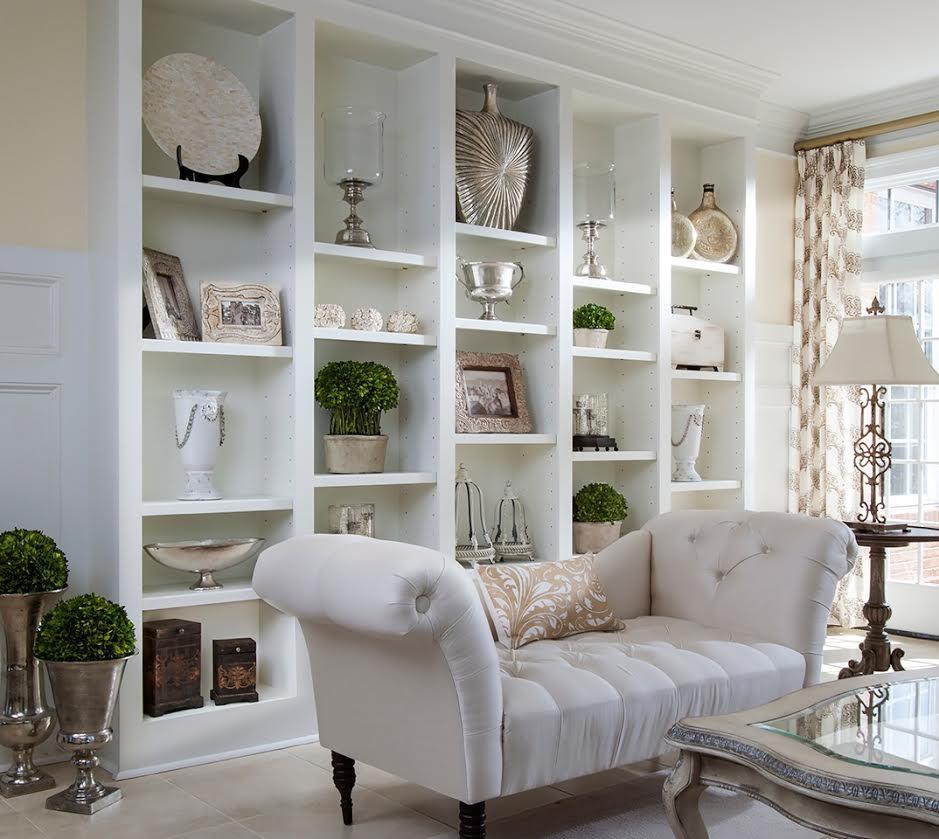 Lauren Nicole Wall of Shelves Complete