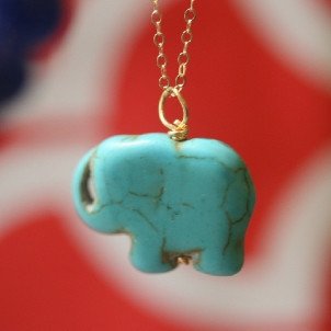 Erin McDermott's Baby Elephant Necklace