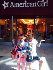 Smarties at American Girl Charlotte
