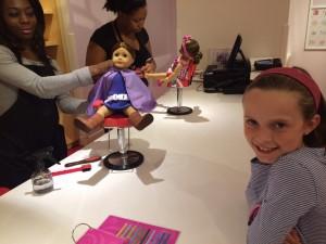 American Girl Store Charlotte Salon
