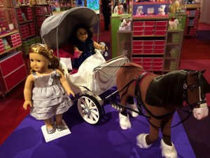 American Girl Charlotte Horse Drawn Carriage