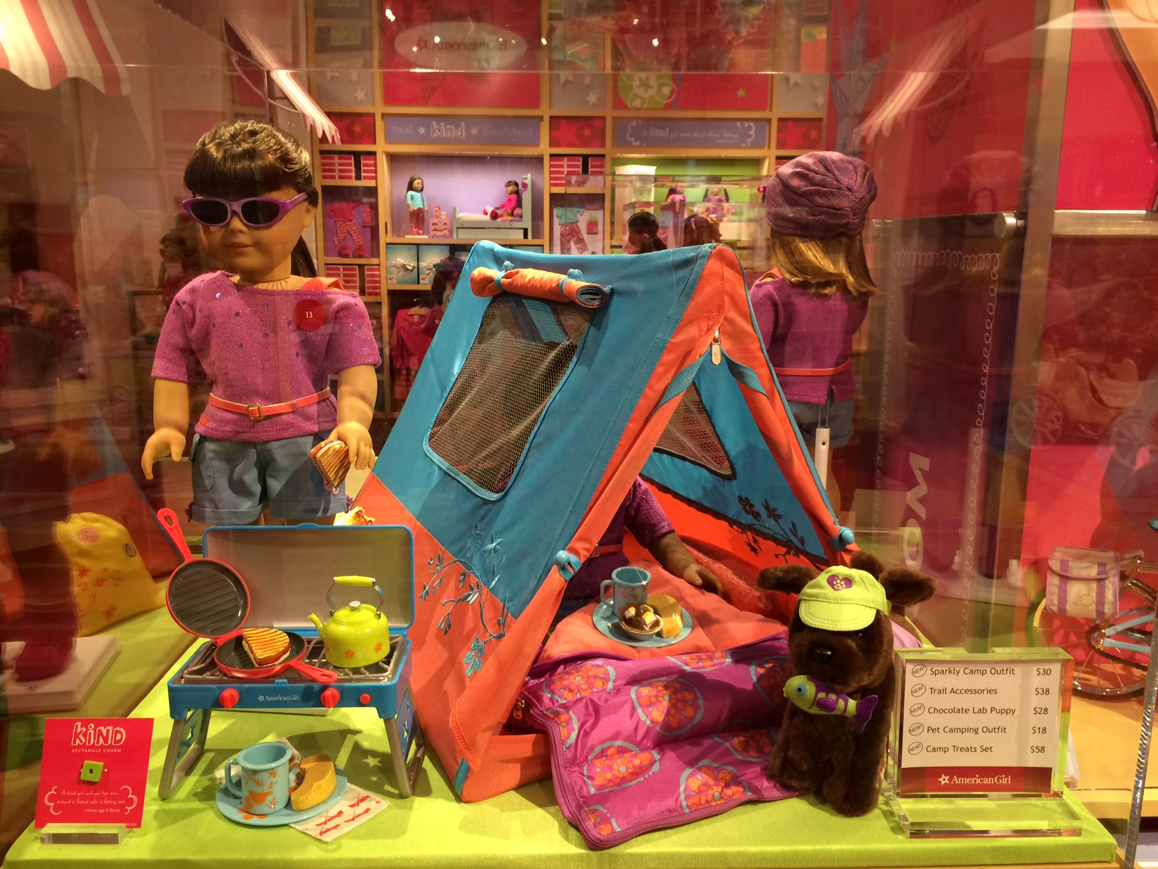 American Girl Charlotte Tent & Smarty Alert American Girl SouthPark Store Grand Opening THIS Weekend!