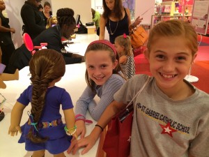 American Girl Charlotte Fishtail Hairdo