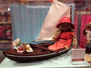 American Girl Charlotte Caroline's Boat