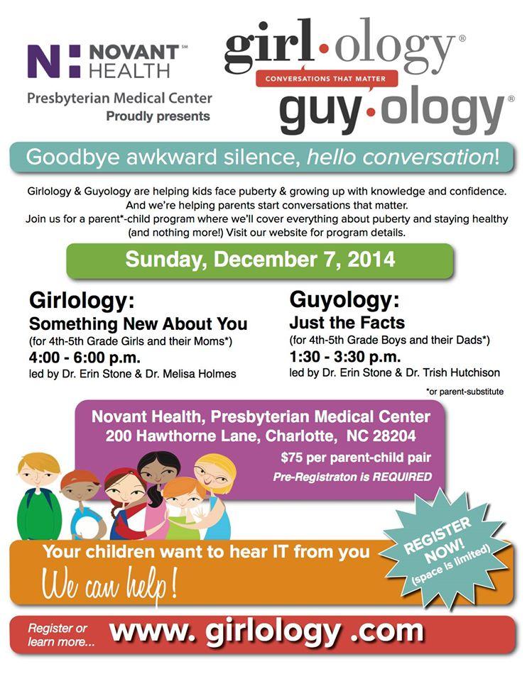 Girlology Guyology Charlotte