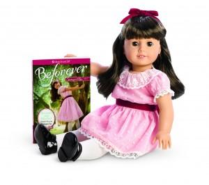 Samantha Doll and Book-Hi Res Sitting