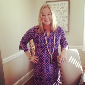 Erin McDermott's Elephant Tassel Necklace with Jen P