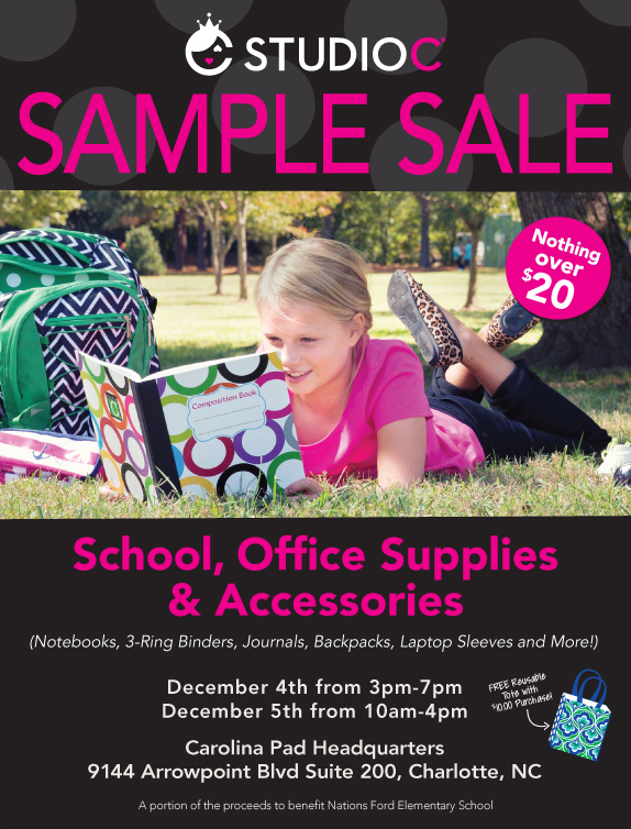 Studio C Sample-Sale-Flyer