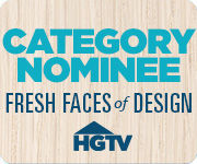 HGTV Fresh Faces of Design Logo