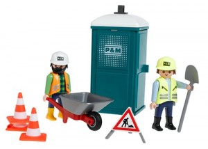 Playmobil toilet