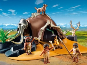 playmobil mammoth skeletion