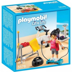 Playmobile Workout Room