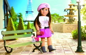 Grace Paris Doll Set-LR