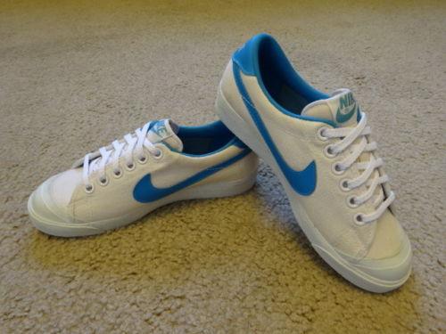 nike tennis Vintage shoes swoosh