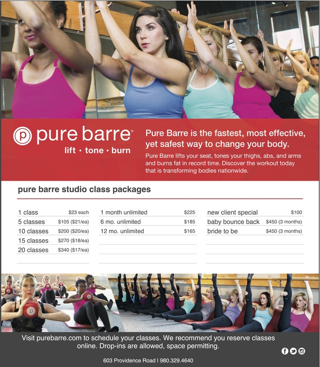 Pure Barre Packages Valentines