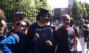 SHARE a Kanetra Jamison & Sons graduation day