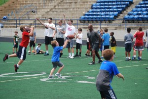 Charlotte Christian Football Camp