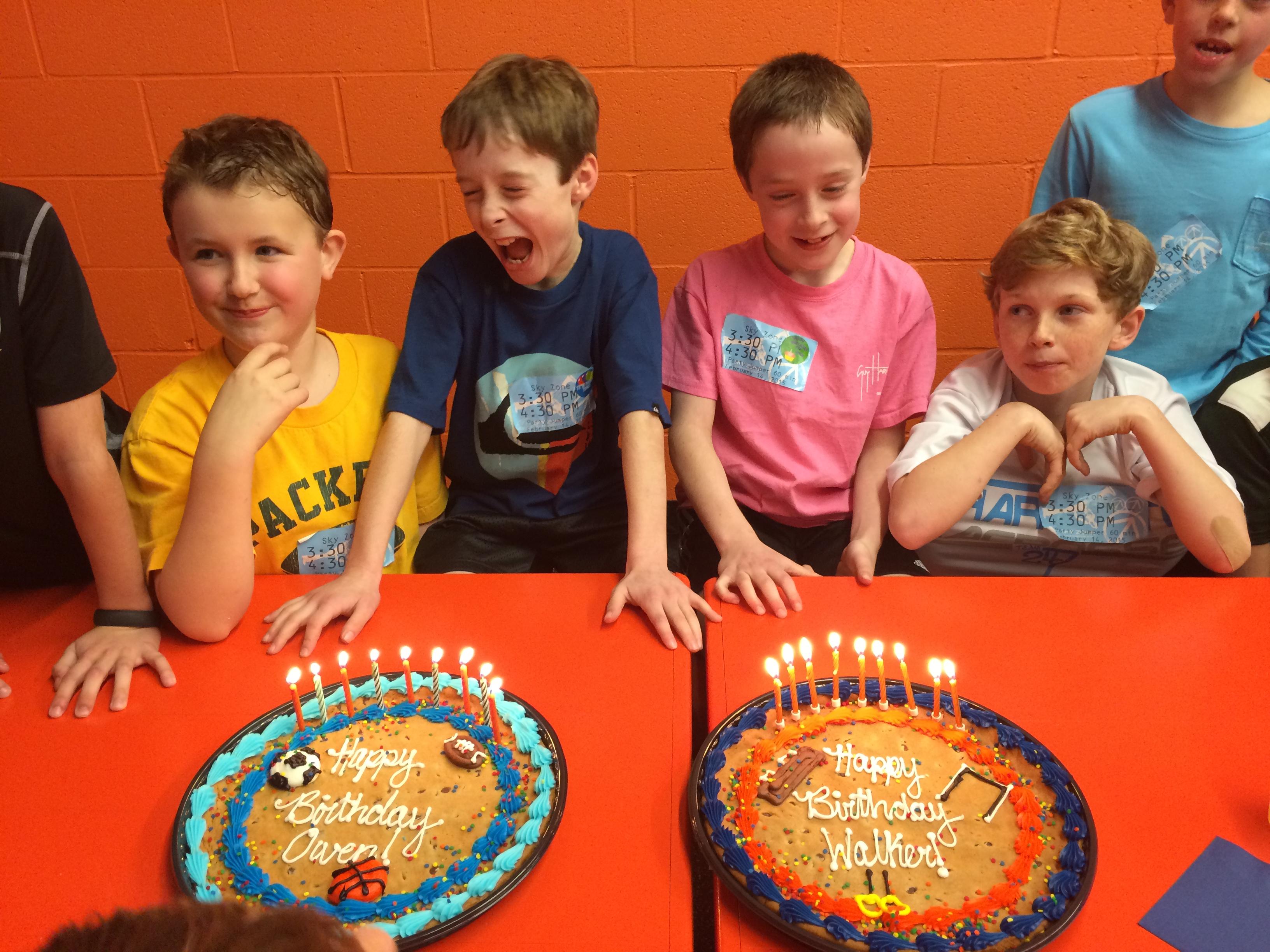 sky zone birthday Smarty Birthday Party Idea: Sky Zone (& a Smarty Steal to boot  sky zone birthday