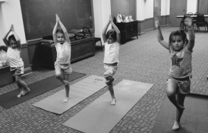 Yoga Camp BW