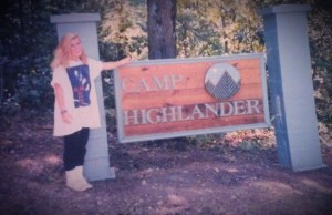Julia Ade Camp Highlander