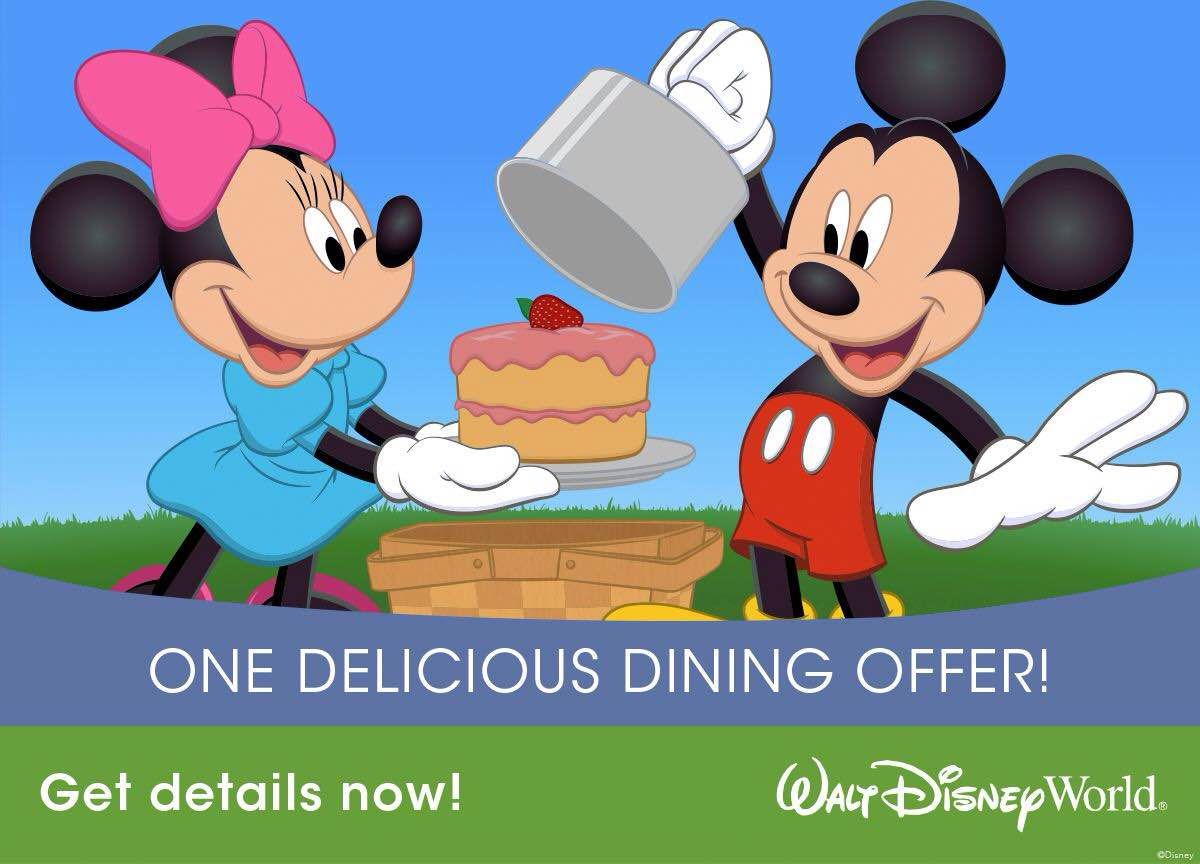 Smarty travel save big on disney free dining is here How to get free dining at disney