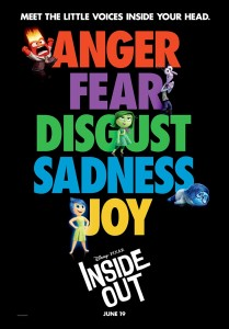 Pixar Post - 03 - Inside Out Poster - Walt Disney Pixar Facebook Page