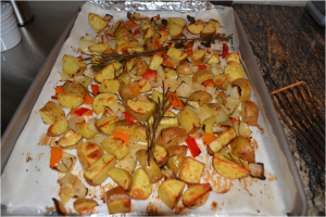 Smarty Cooking School: Rosemary Breakfast Potatoes - Charlotte Smarty ...