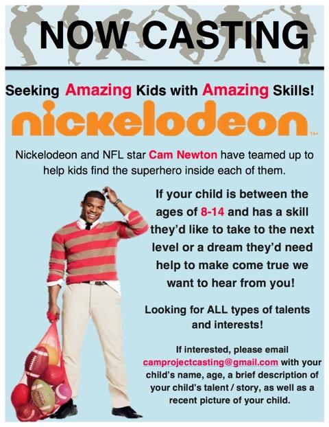 Nickelodeon Cam Newton