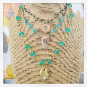 necklace cluster