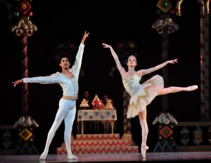 Charlotte Ballet- Nutcracker - Addul Manzano and Alessandra Ball - photo-Peter Zay 2