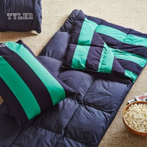 rugby-stripe-sleeping-bag-pillowcase-navy-bright-green-o