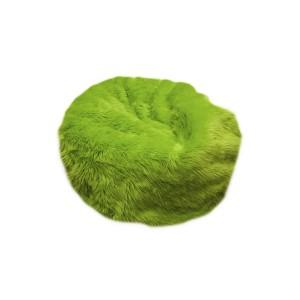 faux fur beanbag