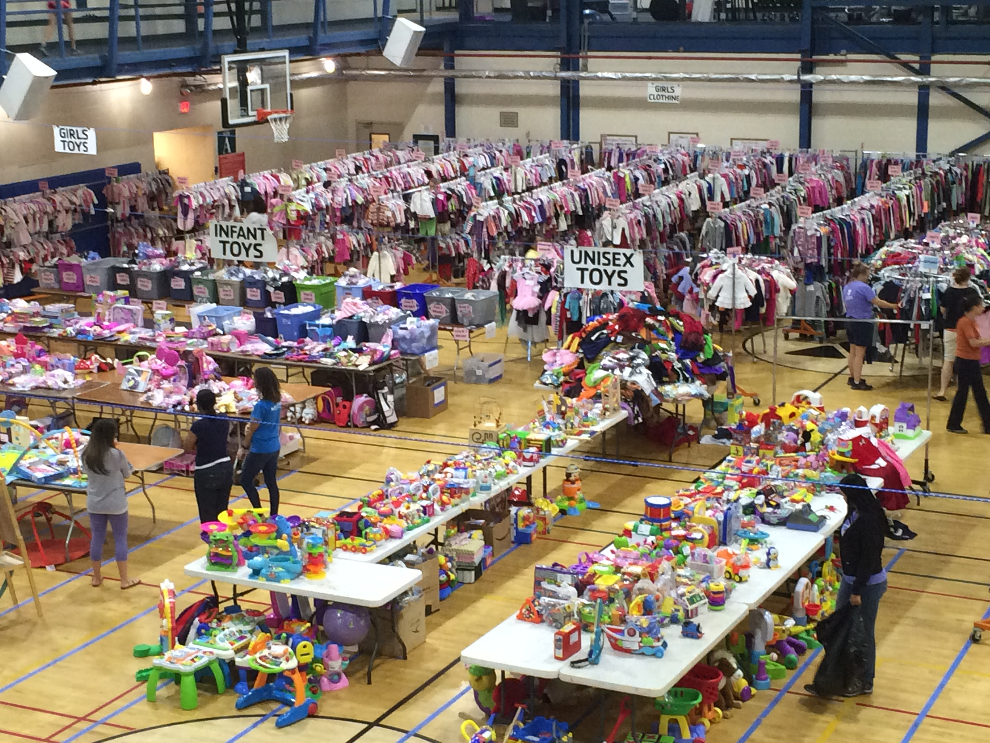 Harris ymca kids konsignment sale on feb 27th for Harris ymca summer camp