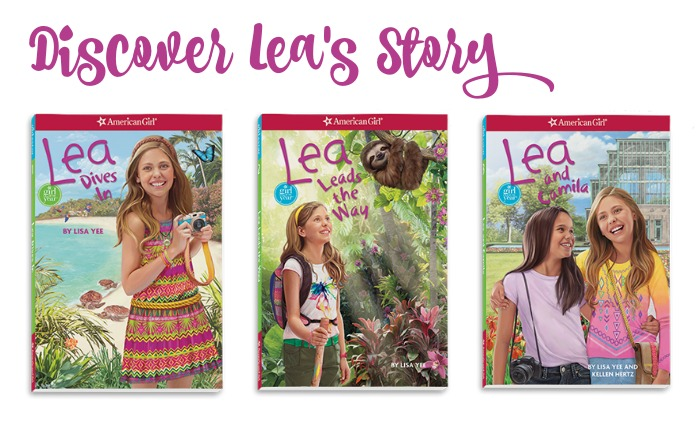 American Girl Lea Clark Book Collection