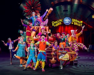Ringling Brothers Charlotte Clown