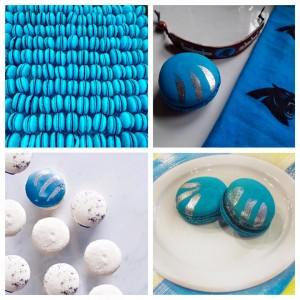Amelie's Panthers Macarons