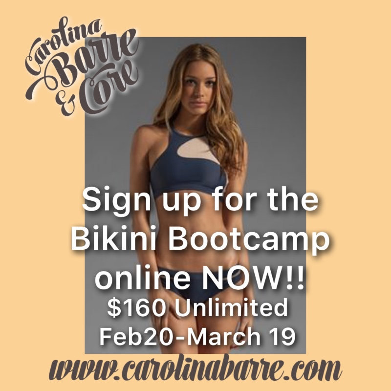 Valuable bikini boot camp online can