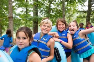 Camp Harrison Kids Slide