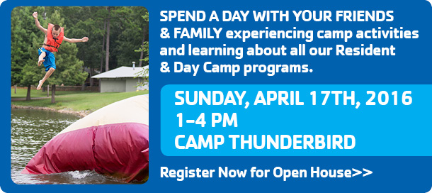 Camp Thunderbird Open House