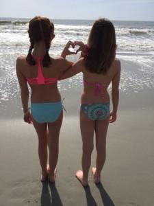 Girls at myrtle beach
