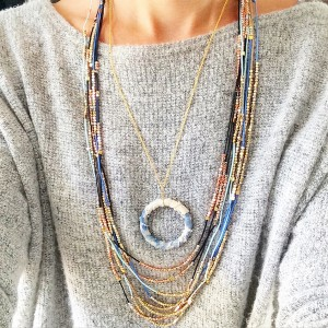Erin McDermott Morning Coffee Necklace