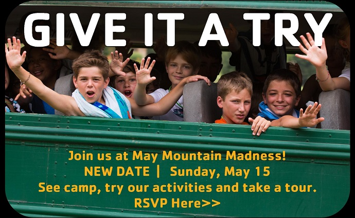 Camp Harrison May Madness Event