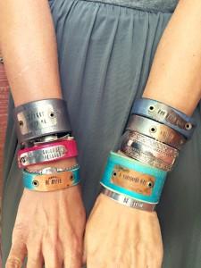 Punch Vintage Style cuffs