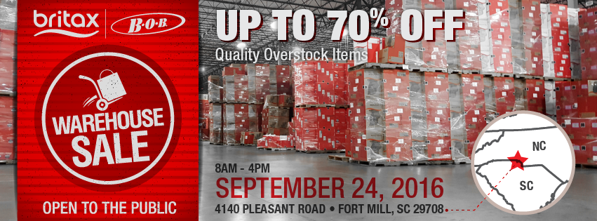 Britax Warehouse Sale