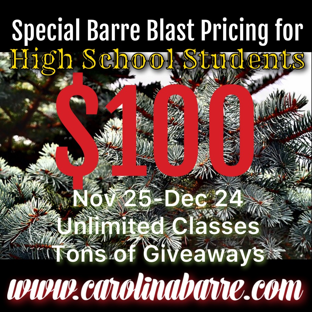 Carolina Barre Teen Barre Blast